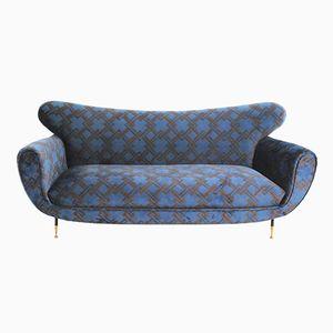 Italienisches Mid-Century Drei-Sitzer Sofa von Gancedo