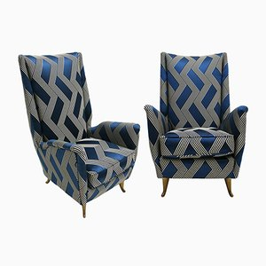 Armchairs by Gio Ponti, 1950s, Set of 2