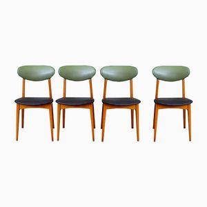 Moderne Französische Stühle von Pierre Guariche, 4er Set