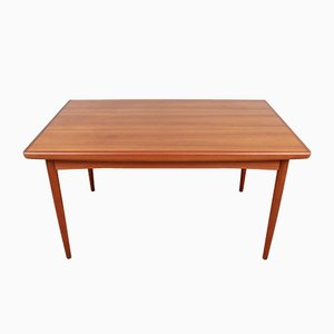 Scandinavian Teak Dining Table from Dyrlund, 1950s