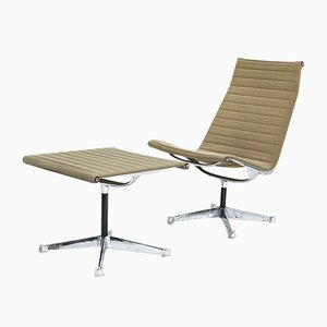 Vintage EA116 & EA125 Lounge Set by Charles & Ray Eames for Herman Miller