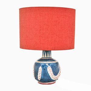 Lampada in ceramica di C.A.S. Solimene, anni '50