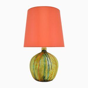 Italian Ceramic Lamp by Livio Pulli, 1970s