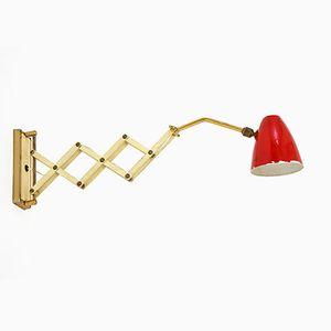 Italian Scissor Lamp, 1950s