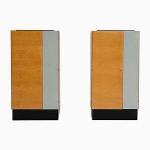 Moderne Kleiderschränke, 1950er, 2er Set