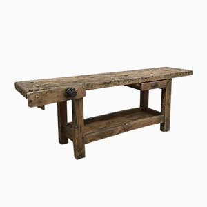 Vintage French Carpenter's Bench