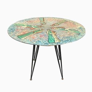Italian Game Table by Decalage for Cumino & C., 1956