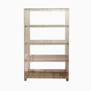 Vintage Plexiglas and Glass Shelves