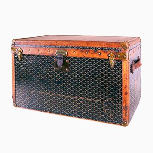 Steamer Shoe Trunk by Goyard Ainé, 1910s