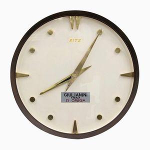 Orologio vintage in ottone di Ritz