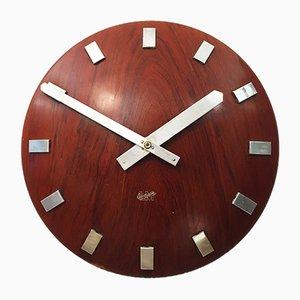 Horloge Murale Mid-Century par LM Ericsson, 1962