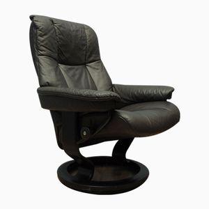Schwarzer Vintage Sessel von Stressless