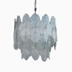 Murano Glass Pendant Light from Vistosi, 1960s