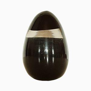 Fermacarte a forma di uovo in vetro di Murano dei Fratelli Toso, Italia, anni '60