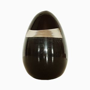 Italian Murano Glass Egg Shaped Paper Weight by Fratelli Toso, 1960s