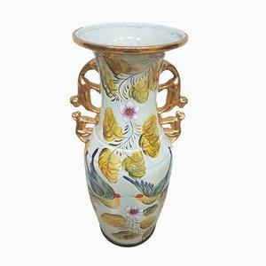 Ceramic Vase by Henri Bequet for M. Depose, 1970s