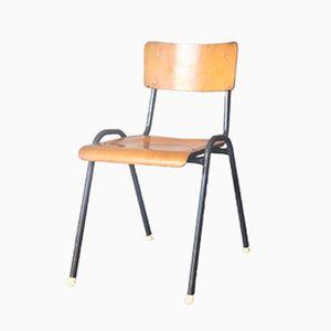 Vintage Industrial School Chair