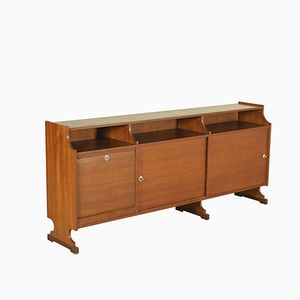 Schrank in Teak Furnier, 1960er