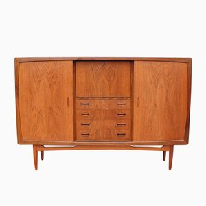 Danish Teak Highboard, 1960s