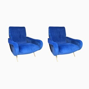 Lady Armchairs by Marco Zanuso for Arflex, 1950s, Set of 2