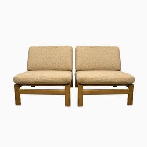 Vintage Danish Lounge Chairs by Arne Wahl Iversen for Komfort Møbler, Set of 2