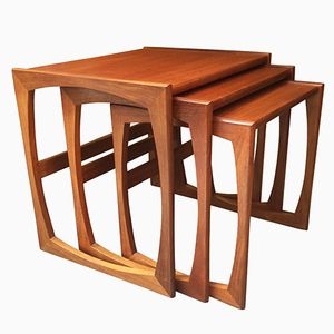 English Nesting Tables from G-Plan, 1960s