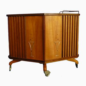 Mid-Century Bar Cart, 1950s