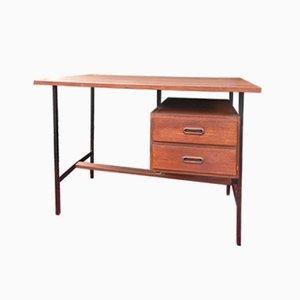 Scandinavian Teak Veneer Desk, 1960s