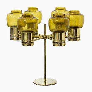 Swedish Six-Armed Candelabra by Hans-Agne Jakobsson, 1960s