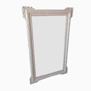 Vintage Large Mirror with Molded Frame