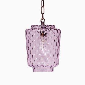 Italian Murano Bubble Glass Pendant Light, 1960s