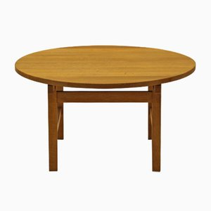 Vintage Coffee Table in Oak by Hans J. Wegner for Andreas Tuck