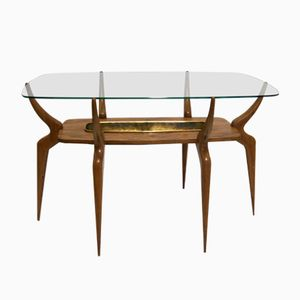 Mid-Century Italian Spider Leg Cocktail Table by Ico & Luisa Parisi