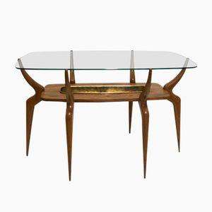 Tavolino da caffè Mid-Century con gambe a ragno di Ico & Luisa Parisi, Italia