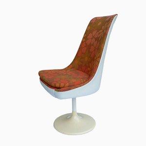 Vintage Floral Tulip Chair