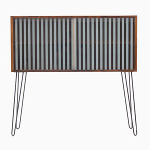 Danish Palisander & Glass Cabinet, 1960s
