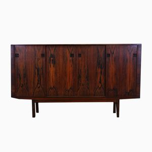 Dänisches Mid-Century Palisander-Furnier Highboard