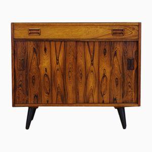 Vintage Rosewood Veneer Cabinet by Niels J. Thorsø