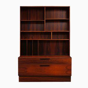 Vintage Rosewood Veneer Cabinet by Ib Kofod Larsen for Faarup Møbelfabrik