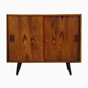 Vintage Danish Rosewood Veneered Cabinet