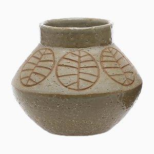 Vintage Chamotte Vase von Hertha Bengtsson für Rörstrand
