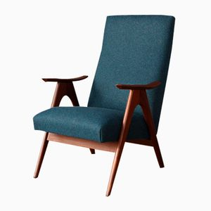 Niederländischer Sessel mit Hoher Rückenlehne