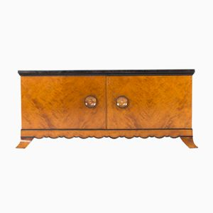 Marble Topped Sideboard by Otto Schulz for Boet, 1930s