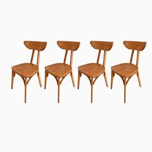 Bistro Stühle, 1950er, 4er Set