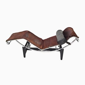 LC4 Chaise Longue by Le Corbusier, Charlotte Perriand & Pierre Jeanneret for Cassina, 1960s