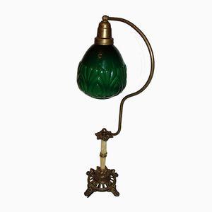 Lampada in ottone, anni '20