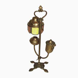 Lampada Mid-Century ad olio