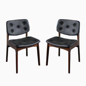 Dänische Vintage Stühle aus Teak, 2er Set