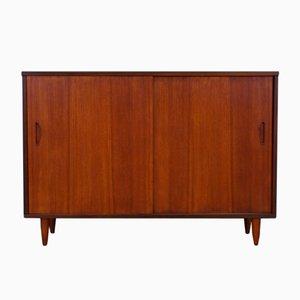 Vintage Teak Veneer Cabinet from Clausen & Son