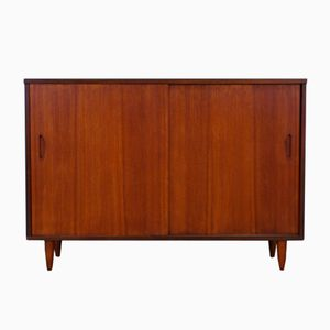 Vintage Teak Veneer Commode from Clausen & Son